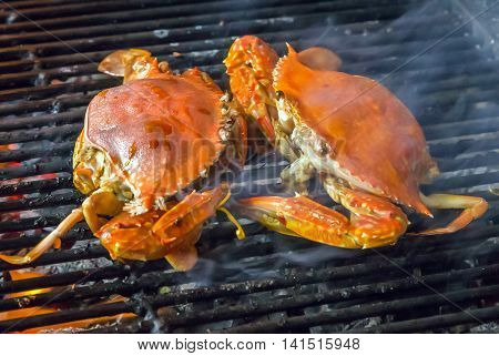 Crab Seafood Barbecue Grill