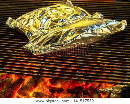 Bbq Fire Iron Grill