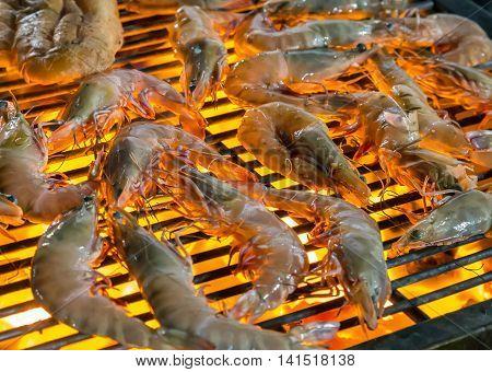 Grilled Shrimp Seafood.