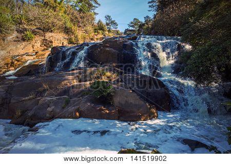 Cam Ly Waterfall In Dalat Vietnam