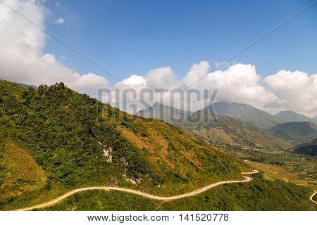Mountain In Sapa Vietnam