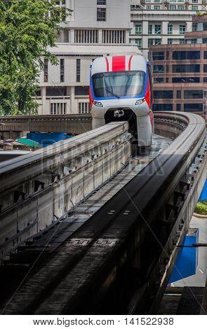 Transportation Monorail Train