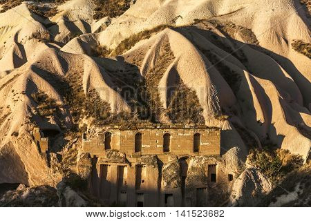 Cave House In Cappadocia, Turkey