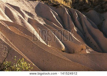 Geological Forms, Cappadocia, Turkey