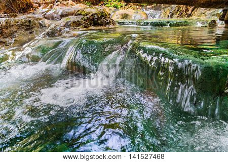 Waterfall Hot Spring