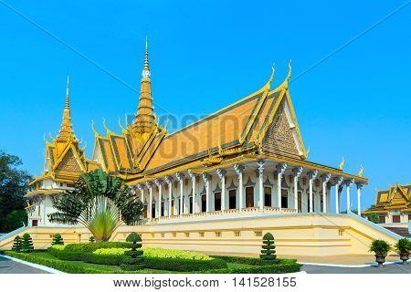 Royal Palace Pnom Penh, Cambodia