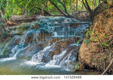 River Waterfall Hot Spring