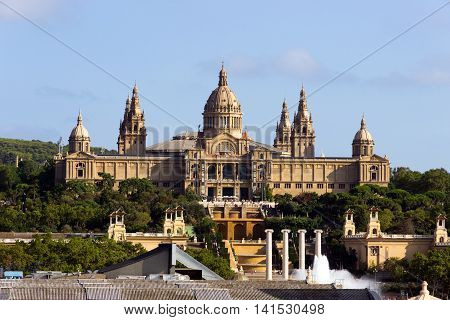 National Palace Of Barcelona