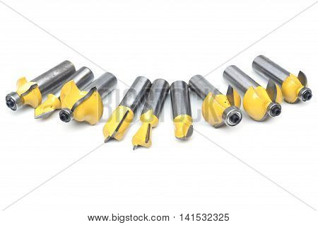 Drill bits for wood craft and furniture production