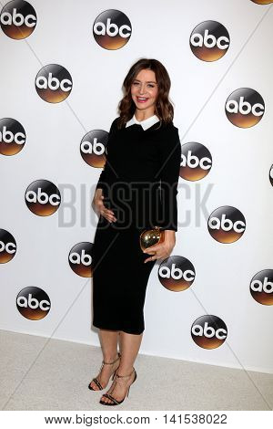 LOS ANGELES - AUG 4:  Caterina Scorsone at the ABC TCA Summer 2016 Party at the Beverly Hilton Hotel on August 4, 2016 in Beverly Hills, CA