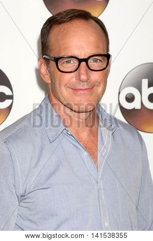 LOS ANGELES - AUG 4:  Clark Gregg at the ABC TCA Summer 2016 Party at the Beverly Hilton Hotel on August 4, 2016 in Beverly Hills, CA