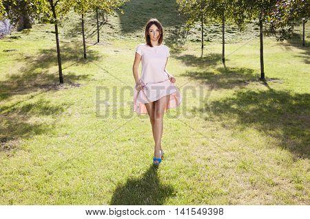 Strolling Woman