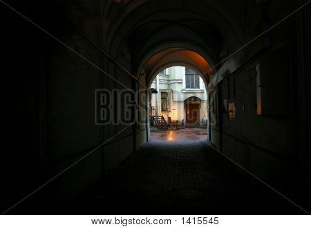 Arch And Dark Passage I