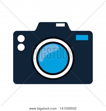 camera gadget photography technology icon. Isolated and flat illustration. Vector graphic