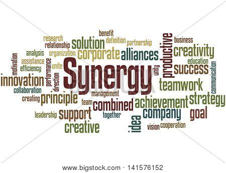 Synergy, Word Cloud Concept 2