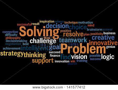 Problem Solving, Word Cloud Concept 6