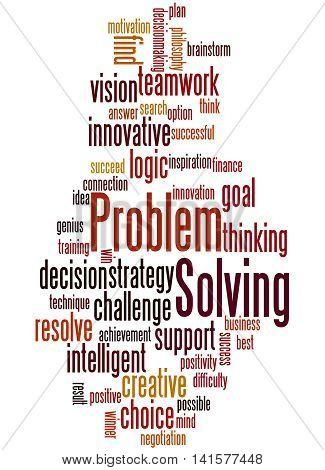 Problem Solving, Word Cloud Concept 4