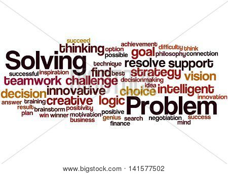 Problem Solving, Word Cloud Concept 2
