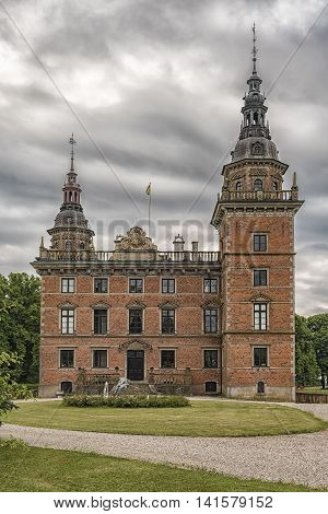 Marsvinsholms castle in the Skane region of Sweden.