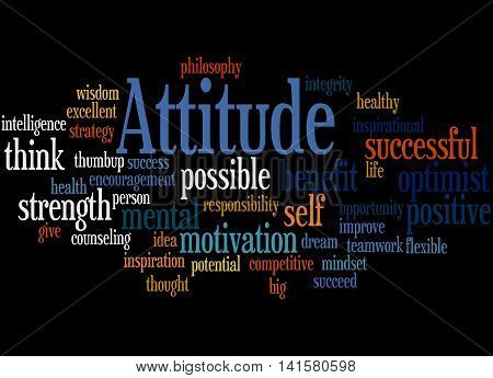 Attitude, Word Cloud Concept 7