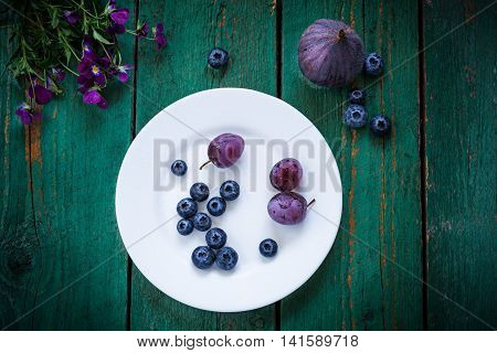 Purple Color In Vegetables