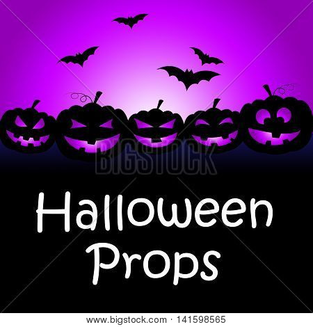 Halloween Props Shows Trick Or Treat And Accessories