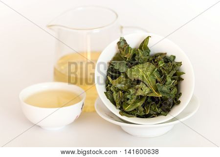 Green tea oolong tea is a source of health and energy