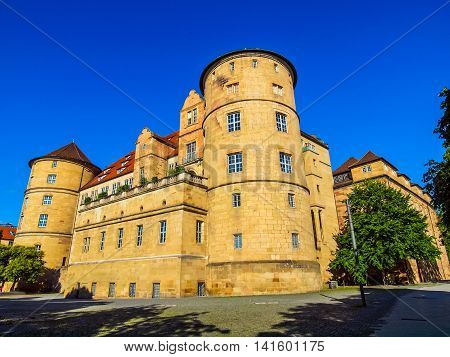 Altes Schloss (old Castle) Stuttgart Hdr