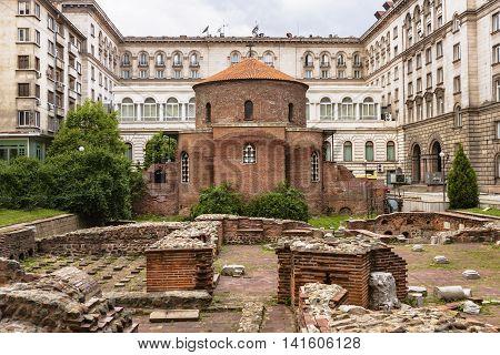 Church Of Saint George In Sofia, Bulgaria