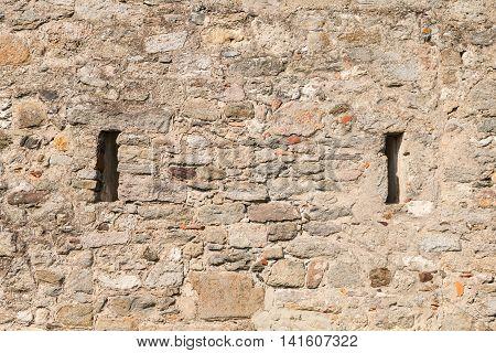 Medieval Castle Of Noirmoutier In France