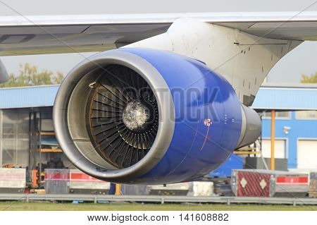 Aircraft Jet Engine Boeing 747