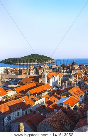 Amazing View Of Dubrovnik, Croatia