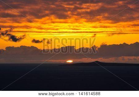Djeu At Sunset