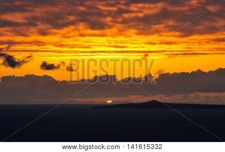 Sunset Over Djeu