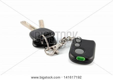 Automobile Keys And Charm From The Autosignal System