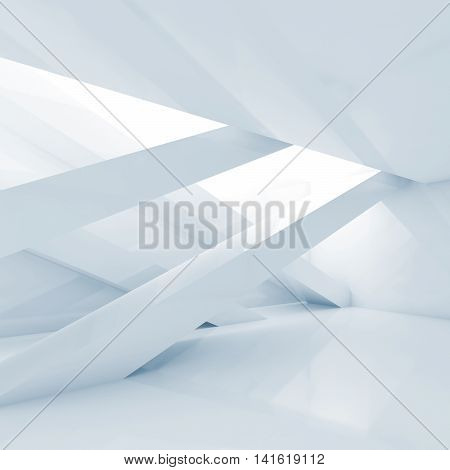 Abstract Contemporary Interior Square Background