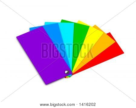 Samples Of Color (Color Of A Rainbow)
