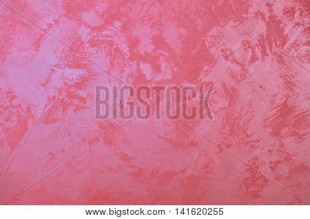Background of fuchsia roan painted wall as a background