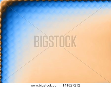 Background with gradient multiple colors for ppt template with frame-blue, yellow.