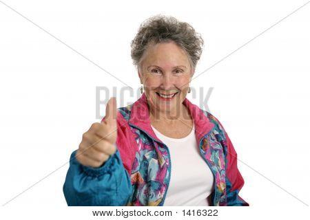 Happy Retiree Thumbsup