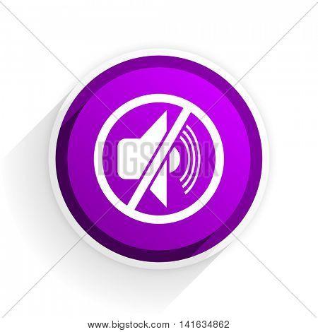 mute flat icon
