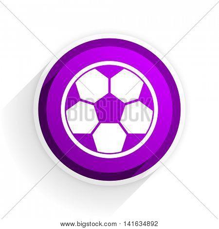 soccer flat icon