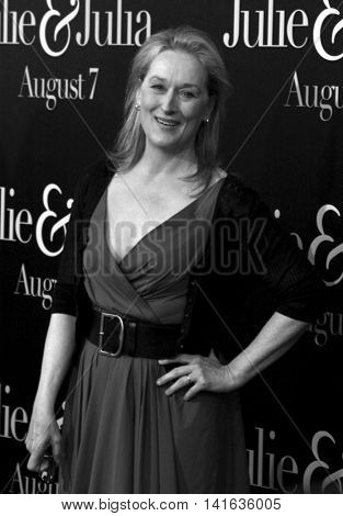 Meryl Streep at the Los Angeles premiere of