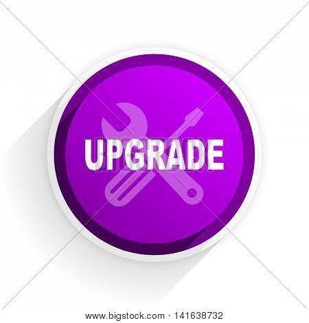 upgrade flat icon