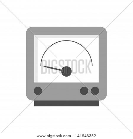 gauge power energy technology icon. Isolated and flat illustration. Vector graphic
