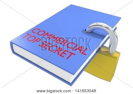 Commercial Top Secret Concept