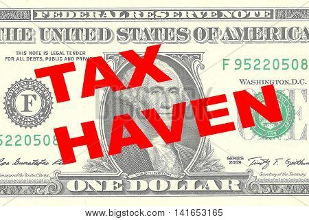 Tax Haven Concept