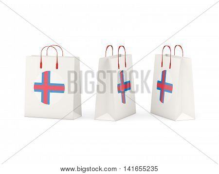 Flag Of Faroe Islands On Shopping Bags
