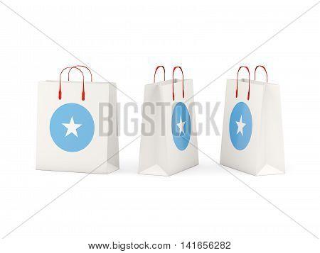 Flag Of Somalia On Shopping Bags