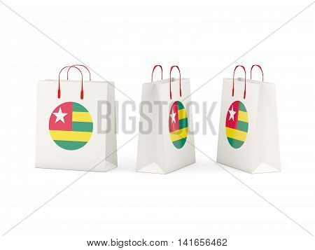 Flag Of Togo On Shopping Bags